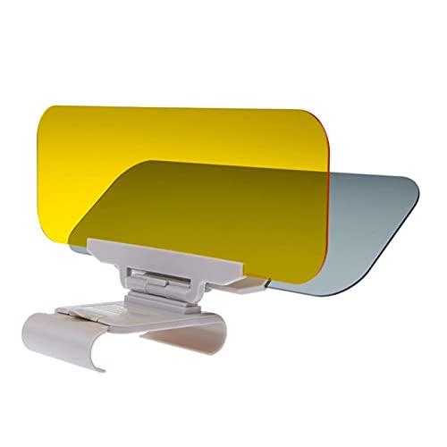 YUJIEXING YJSH Coche Sombrilla Visera Extensora Día Y Noche Sol Visera Anti-Dazzle Goggles Clip-on HD Accionamiento De Vehículo Visor Encajar para Una Vista Clara (Color : Army Green)