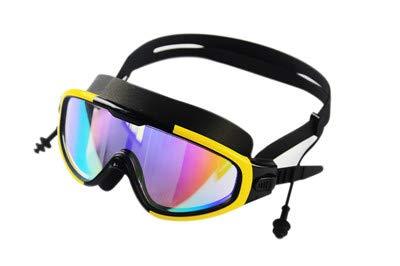 OWEM Profi-Brille, Silikon, weich, wasserdicht, Anti-Beschlag, UV, Männer und Frauen D
