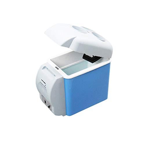DBSUFV Refrigerador de coche de 12V 7.5L, Mini refrigerador electrónico, congelador, refrigerador de viaje, de doble uso