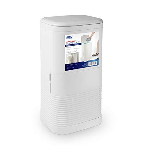 North American Wellness Adult Briefs Disposal Bin & Odor Free Diaper Pail