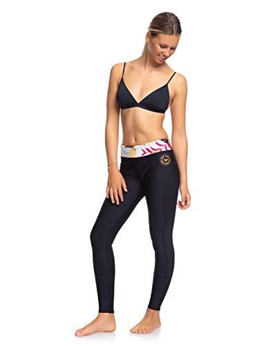 Roxy Damen 1mm Pop Capri Neopren Neoprenanzug Leggings - Schwarze Terrakotta - Leichtgewicht