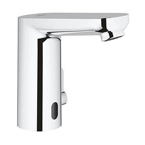 Grohe 36324001 Eurosmart CE Infrarot-Elektronik für Waschtisch mit Mischung und variabel einstellbarem Temperaturbegrenzer