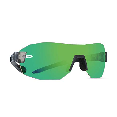 gloryfy unbreakable eyewear Gloryfy - Gafas de sol unisex irrompibles (G9 Radical Transformer Energizer Green TRF), color gris