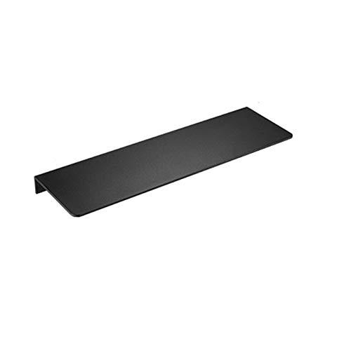 ACEACE Cuarto de baño Montaje de Pared Soporte de Almacenamiento Rack Punch-Free Gabinete Estante de Cocina Gadget Supplies Baño Rack Accesorios para el hogar (Color : Black 50cm)