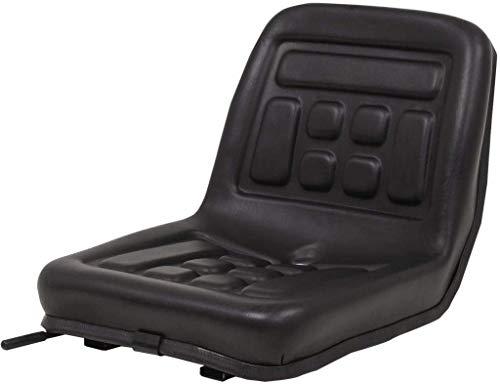 Asiento de tractor, asiento para tractor, carga compacta, cortacésped, asiento para carretilla