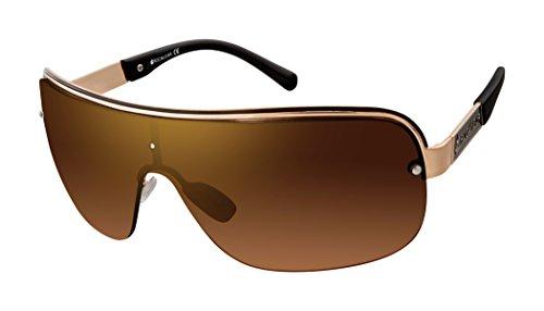 Rocawear Herren R1480 Gldbk Sonnenbrille, Goldfarben/Schwarz