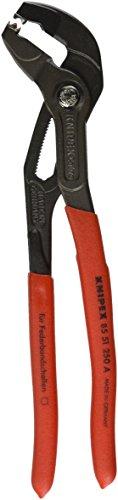 Knipex 85 51 250 A SB Federbandschellen-Zange Länge: 305 mm, Multi