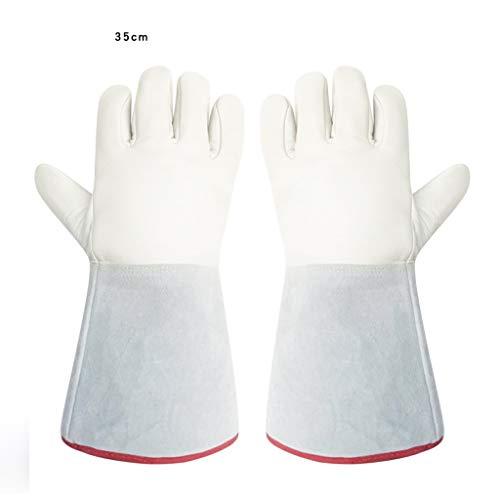 ZhuFengshop handschoenen lage temperatuur bestendige handschoenen voor warmte en verdediging tegen koude -80-200 graden anti-vloeibare stikstof handschoenen koude opslag droog ijs vullen station anti-freeze handschoenen 1 paar (optio