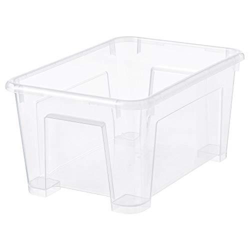 Ikea Samla, scatola trasparente