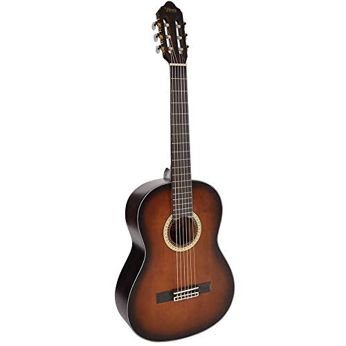 Valencia 400 Series Full Size Classical Guitar - Historic Sunburst