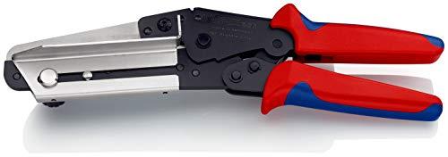 KNIPEX 95 02 21 Schere für Kunststoffe auch für Kabelkanäle mit Mehrkomponenten-Hüllen 275 mm