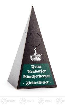 Zubehör Neudorfer Räucherkerzen Fichte/Kiefer (24) Breite x Höhe x Tiefe 6 cmx12 cmx6 cm NEU Erzgebirge Räucherkegel
