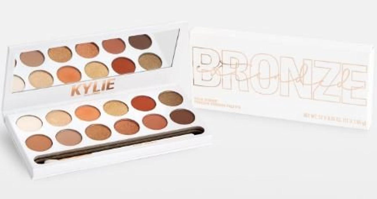 倍率かき混ぜる幹Kylie Cosmetics THE BRONZE EXTENDED PALETTE ブロンズパレット
