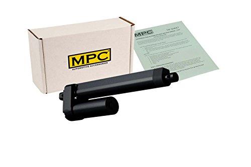 MPC 3621 Heavy Duty Linear Actuator, 12V DC, 12' Stroke, 770 lb. Max Load, Black Finish