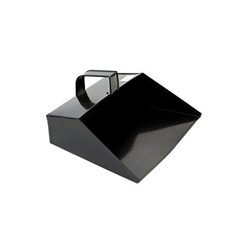 COTTAM ISH00003 Grande paletta da pulizia in metallo, Black