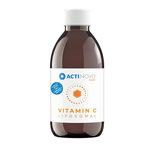 Liposomales Vitamin C | Sanddorn Pure 250 ml | hochdosiert | für dein Immunsystem | Tagesdosis 1000 mg Vitamin C | hohe Bioverfügbarkeit | flüssig | ohne Zusätze | vegan
