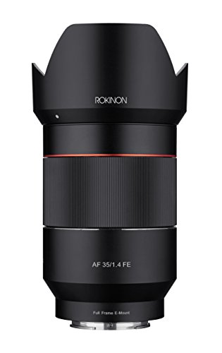 Rokinon AF 35mm f/1.4 Auto Focus Wide Angle Full Frame Lens