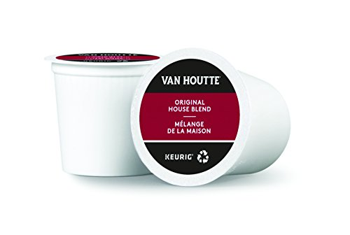Van Houtte Original House Blend Single Serve Keurig Certified K-Cup pods for Keurig brewers, 18 Count