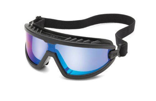 Gateway Safety Wheelz Safety Goggle Blue Mirror Anti-Fog Lens $9.07 + Free shipping w/ Prime