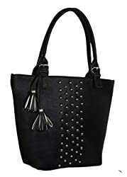 Blue Fusion Womens PU Handbag Bag