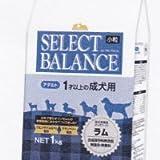 セレクトバランス ドッグフード アダルト 1才以上の成犬用 ラム 小粒 1kg 1袋 ベッツ・チョイス・ジャパン