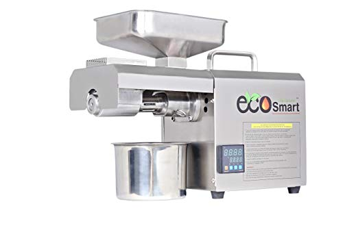 EcoSmart 04TC 600 Watt Stainless Steel Organic Oil Maker Machine/Extract Oil from Peanuts,mustered,seasame,Soybean,Sunflower,Almond,Coconut,etc./Home use Oil Press Machine
