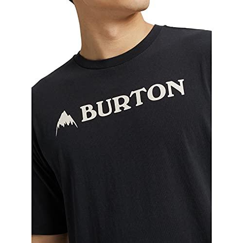Burton Herren Horizontal Mountain T-Shirt, True Black, L