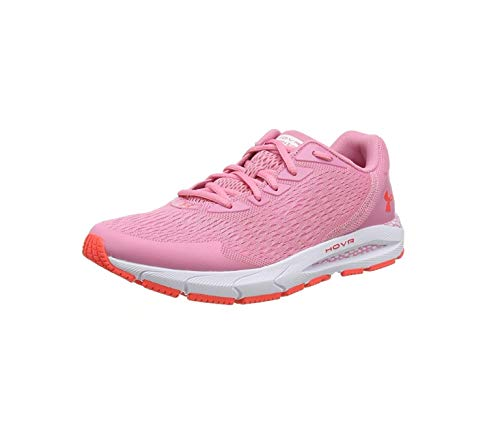 Under Armour UA GS HOVR Sonic 3, Zapatillas de Running Unisex Adulto, Rojo (Lipstick/White/Beta), 40 EU