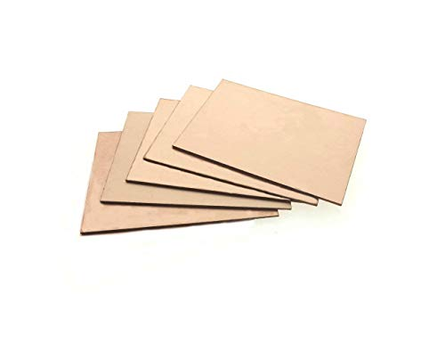 12Pcs Single Sided Copper FR-4 PCB Clad Coated 100mmx70mm Wide Use Circuit Board Prototype for Test