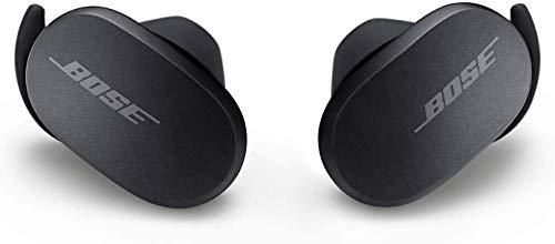 Bose Écouteurs Quietcomfort Noise Cancelling Earbuds–Écouteurs Bluetooth Entièrement sans Fil, Triple Noir, des Écouteurs Équipés de la Technologie de Réduction de Bruit la Plus Efficace au Monde