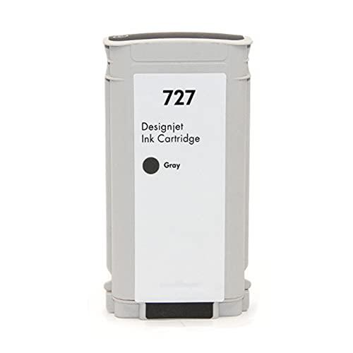 SSBY Cartucho de Tinta Compatible para HP 727, Adecuado para HP Designjet T1500 T2500 T1530 T2530 T920 T930 Impresora de Plotter Grey