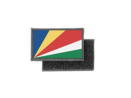 Aufnäher patch aufbügler gedruckt flagge fahne seychellen
