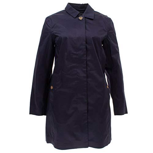 GANT Damen Wetterfester Trenchcoat Größe M Blau (blau)