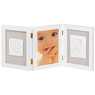 My Sweet Memories ES Photo Frame + 2 Baby Print - Marco triple para foto y 2 huellas de bebé, color blanco (B007DCNKNM) | Amazon price tracker / tracking, Amazon price history charts, Amazon price watches, Amazon price drop alerts