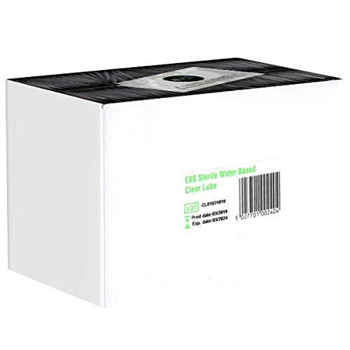 EXS Clear Lube, parabenfreies Gleitgel für mehr Feuchtigkeit, 100 x 5 ml