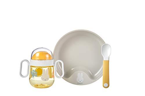 Mepal - Juego de vajilla para bebé Miffy explore de 3 piezas.