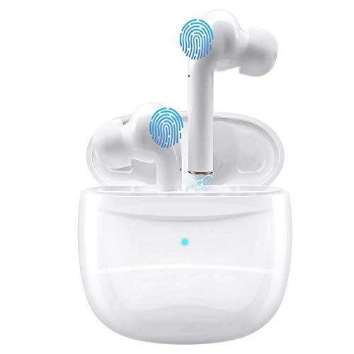 Auriculares inalámbricos Bluetooth V5.0, micrófono Integrado con Sonido 3D,...