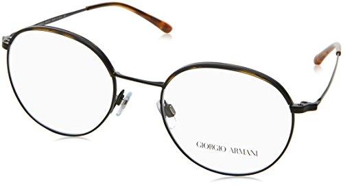 Armani Herren 0AR5070J Brillengestell, Mehrfarbig (Yellow Havana/Matte Black 3001), 49