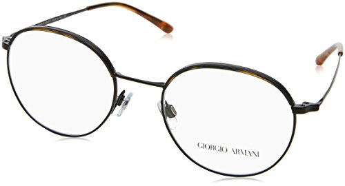 Armani Herren 0AR5070J Brillengestell, Mehrfarbig (Yellow Havana/Matte Black 3001), 49 EU