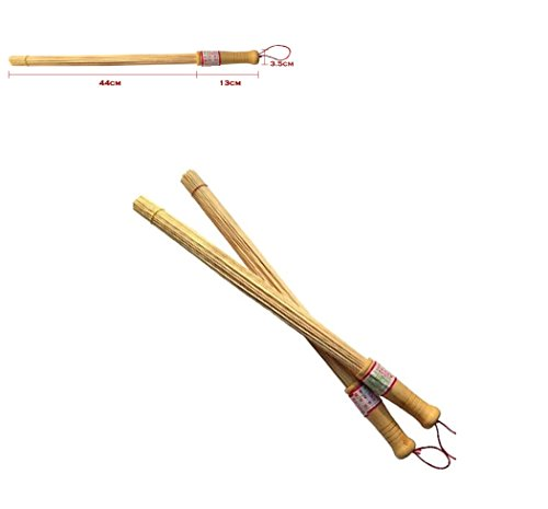 COLIBYOU Natural Bamboo Massage & Relaxation Hammer Stick Sticks Fitness Pat Environmental Health Wooden Handle Massager