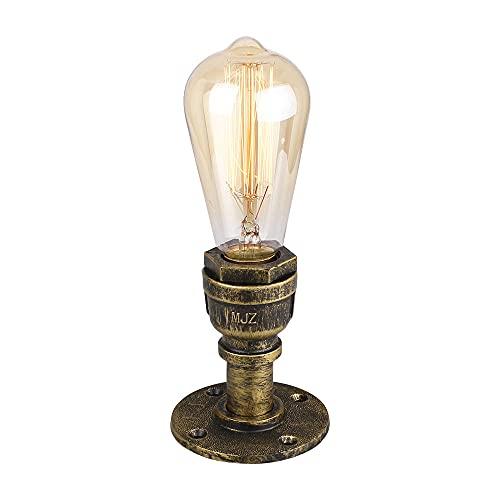 Lámpara de Techo Vintage Industrial, YABAG Aplique de Pared de Tubería de Agua de Hierro, Luz de Pared Steampunk Retro para Cocina Pasillo Dormitorio Bar Loft (Cían)