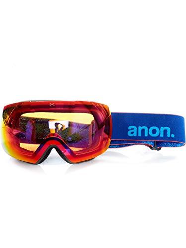Anon Herren MIG MFI Snowboardbrille, Blue/Sonar Infrare