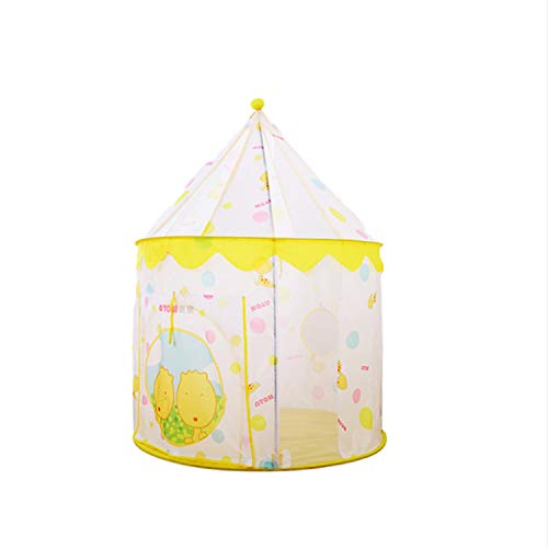 Tents 2 In 1, Play for Kids - Yurt Teepee Indian Playhouse Play Tunnel for Children Indoor Kids Dream (Color : A)