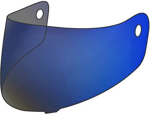 Scorpion EXO 2000/2000 EVO / 1200/710 / 510/410 / 390 3D Viseur De verrouillage Iridium Bleu