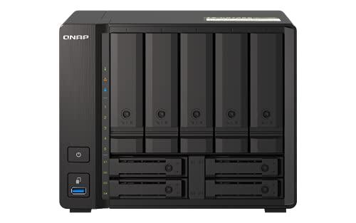 QNAP(キューナップ) TS-h973AX ZFSベースの QuTS hero OSを搭載 AMD Ryzen V1500Bクアッドコアプロセッサ搭...