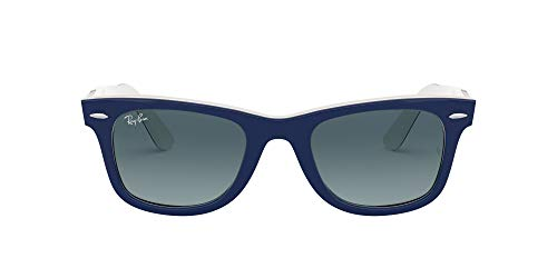 Ray-Ban Wayfarer Gafas de lectura, Blau, 50 Unisex Adulto