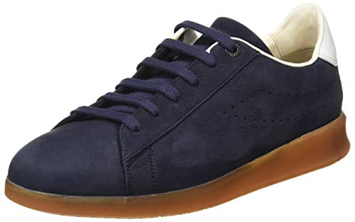 LLOYD Herren Low-Top Sneaker BAXAN, Männer Sneaker,Variofootbed, sportschuh maennliche maskulin rustikal Men's Men,Midnight/Bianco,10.5 UK / 45 EU