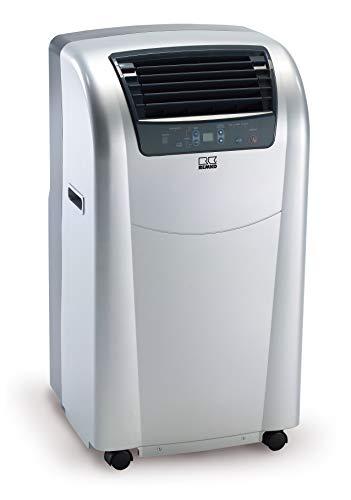 REMKO Raumklimagerät RKL 360 Eco, Silber (Klimagerät Für Ca. 100m³, Kühlleistung 3,5 Kw, Incl. Fernbedienung)