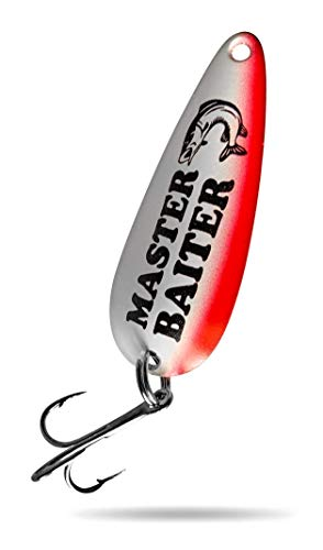 Funny Fishing Lure Gift for Men - Fishing Birthday - Master Baiter - Fishing Spoons - Dad Gifts - Perfect for Any Fisherman - Fishing Lures for Walleye and Pike - Spoon for Trout - Fishing Gag Gifts