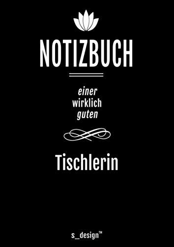 Notizbuch für Tischler / Tischlerin: Originelle Geschenk-Idee [120 Seiten kariertes DIN A4 blanko Papier]